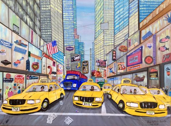 New-York-Taxis
